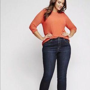 Lane Bryant Women's Skinny Tummy Toning Jean Sz 28